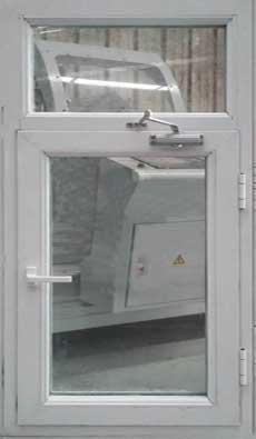 断桥铝(铝合金)非隔热防火窗