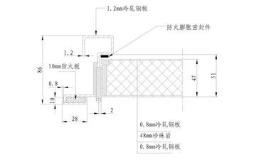 房门尺寸-防火门尺寸规范_1