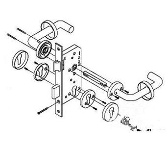 防火门锁是什么锁_安装方法和步骤