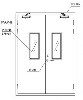防火门设计图纸