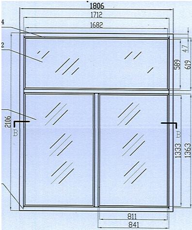 甲级防火窗尺寸