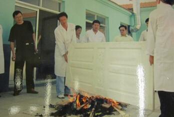 防火门生产制作工艺流程图